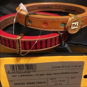 Fendi bracelet set